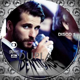 Label DVD Dupla Identidade Primeira Temporada D1 a D4
