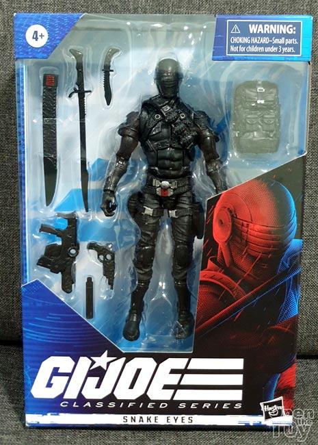 Hasbro G.I. Joe Classified Series Snake Eyes Action Figure