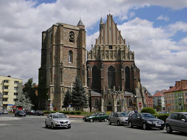 świątynia, katedra, dzwonnica, Nysa