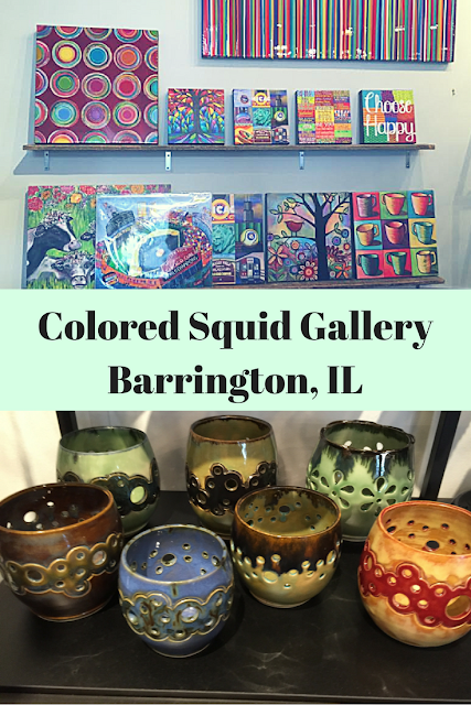 Colored Squid Gallery in Barrington, Illinois is home to handcrafted artisan items made in the USA