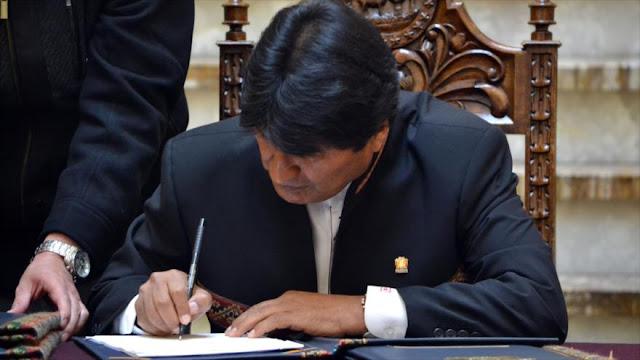 Morales busca cadena perpetua para violadores de niños en Bolivia
