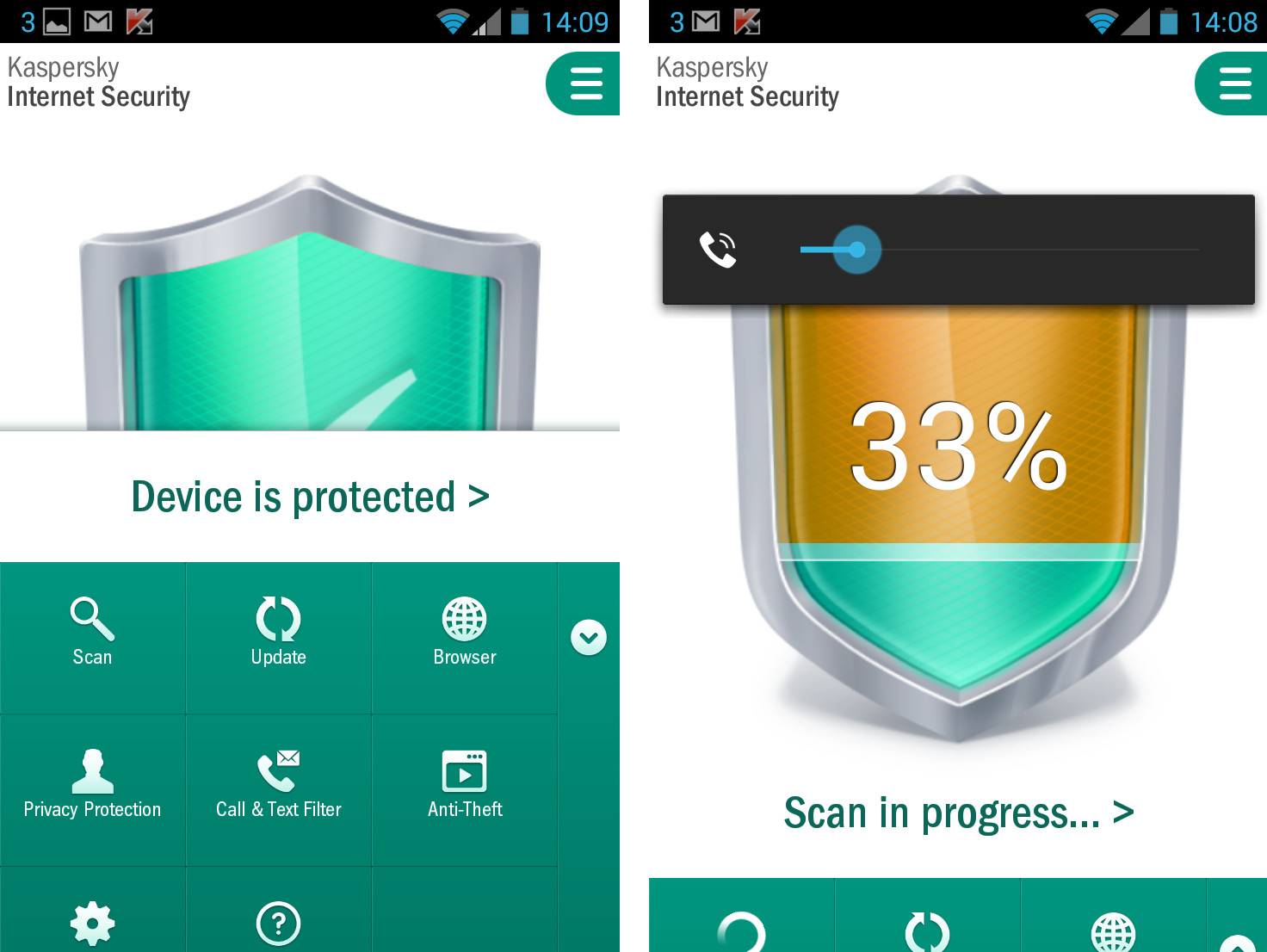 kaspersky internet security android full apk