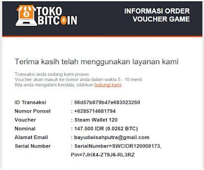 Daftar Tempat Jual Voucher Steam Dengan Menggunakan Bitcoin - Coin-crypto