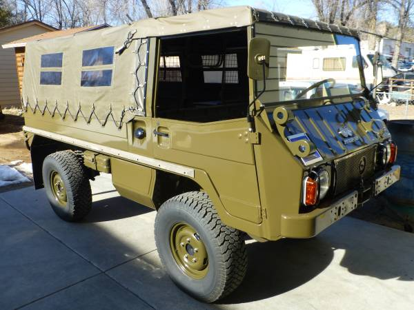Up For Sale, 1973 Steyr Puch Pinzgauer 710M