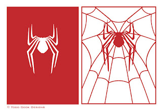 Todd Cook Designs The Amazing Spider Man