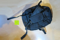 hinten: Lalawow Sling Bag taktisch Rucksack Daypack Fahrradrucksack Umhängetasche Schultertasche Crossbody Bag