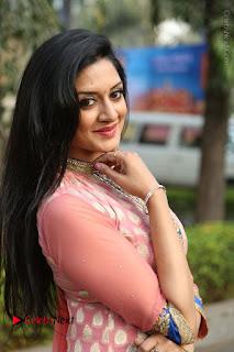 Actress Vimala Raman Stills in Beautiful Pink Salwar Kameez at (ONV) Om Namo Venkatesaya Press Meet  0206.JPG