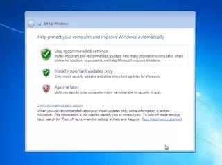 Stop updates in windows 7