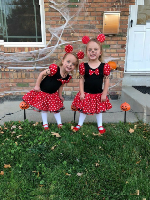 Toddler Minnie Mouse costumes