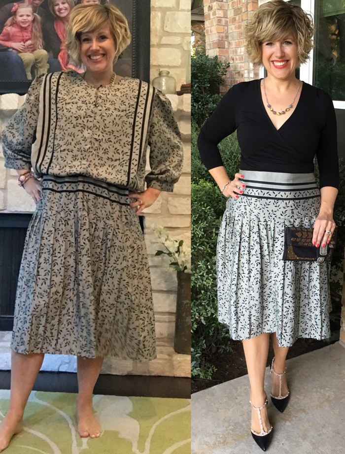 Thrifty Thursday - A Giant Refashion