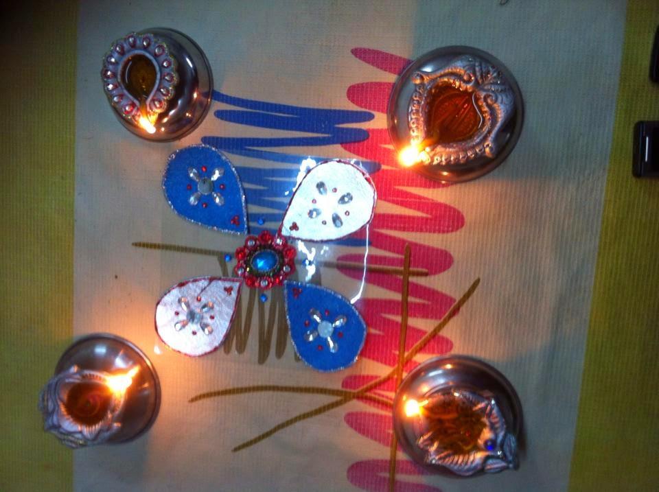 Kolam for Diwali 15