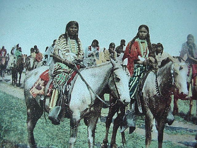 American Indian's History and Photographs: The Comanche Indians ...