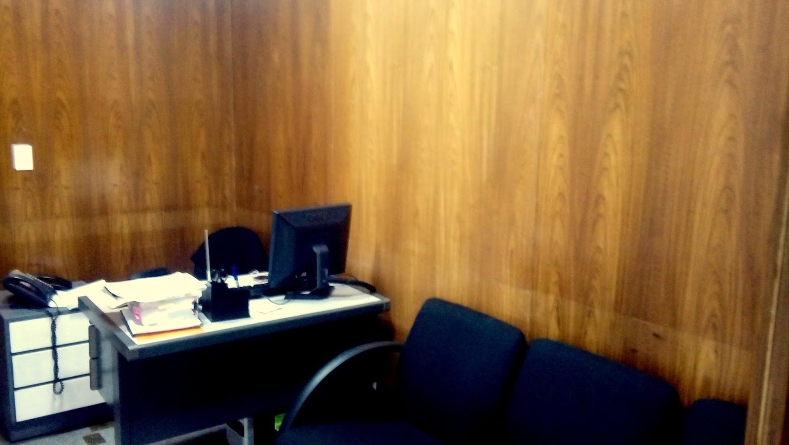 ARQUITETURA&ARTE: Projeto de interiores escritório de advocacia #B47D17 1600x902