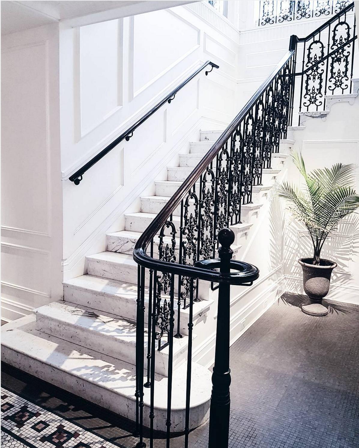 101 planos de casas dise os de una escalera con estilo for Escalera de hormigon con descanso