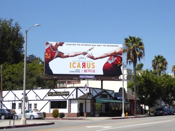 Icarus billboard