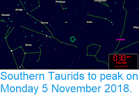 https://sciencythoughts.blogspot.com/2018/11/southern-taurids-to-peak-on-monday-5.html