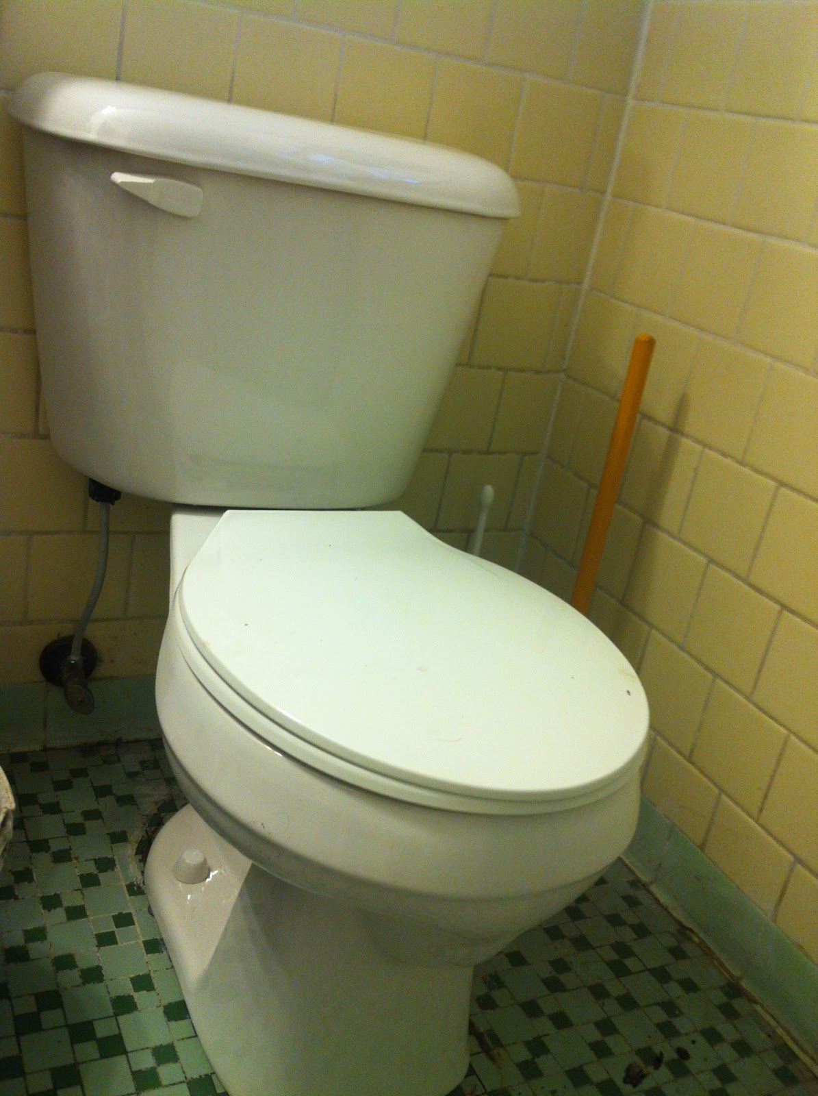 Diamond In The Rough: New Commode