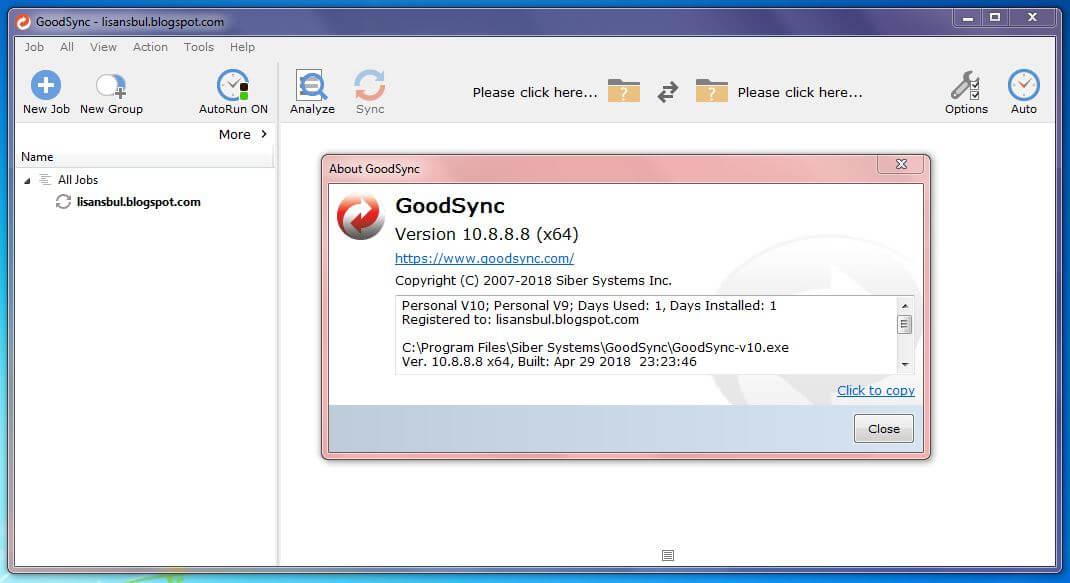 GoodSync v10 Free Giveaway License Key (v10 8 8 8)