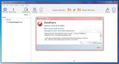 GoodSync giveaway full serial number download