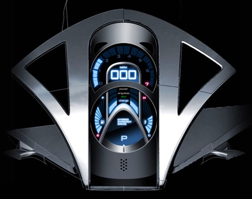 Toyota FT-HS Hybrid Sports Concept Interior