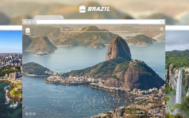 Brazil New Tab