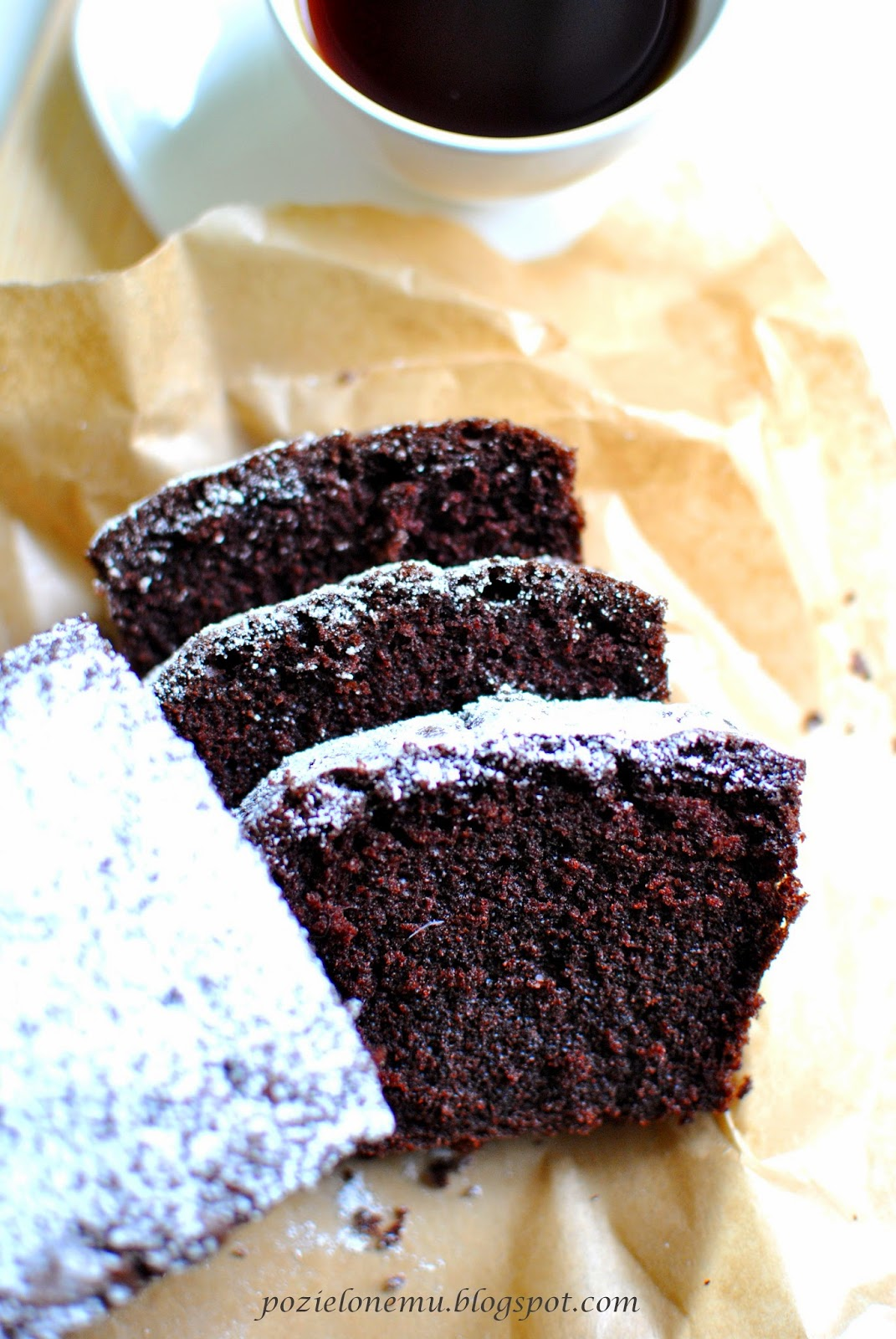 czekoladowa babka