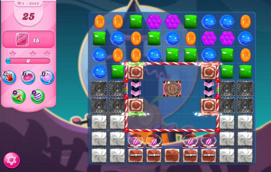 Candy Crush Saga level 6442