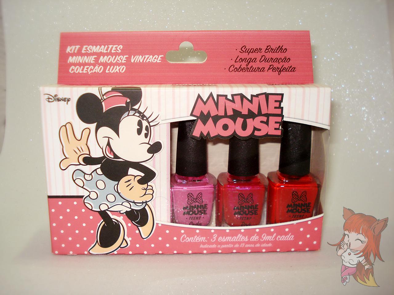 Esmalte Minnie Mouse :: Veludo - Resenha