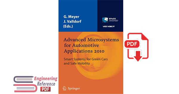 Advanced Microsystems for Automotive Applications 2010: Smart Systems for Green Cars and Safe Mobility