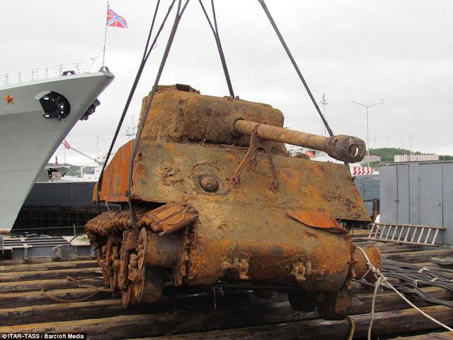 Sherman M4A2 Barents Sea sunk worldwartwo.filminspector.com