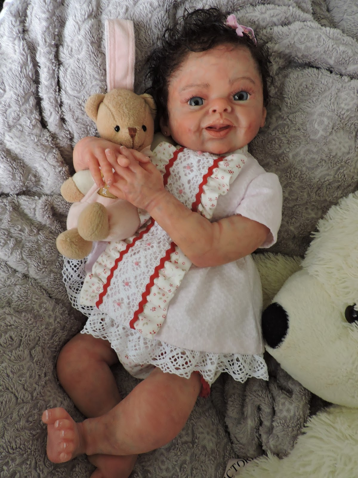 Full Body Soft Solid Silicone Baby doll/REBORN SILICONA ...
