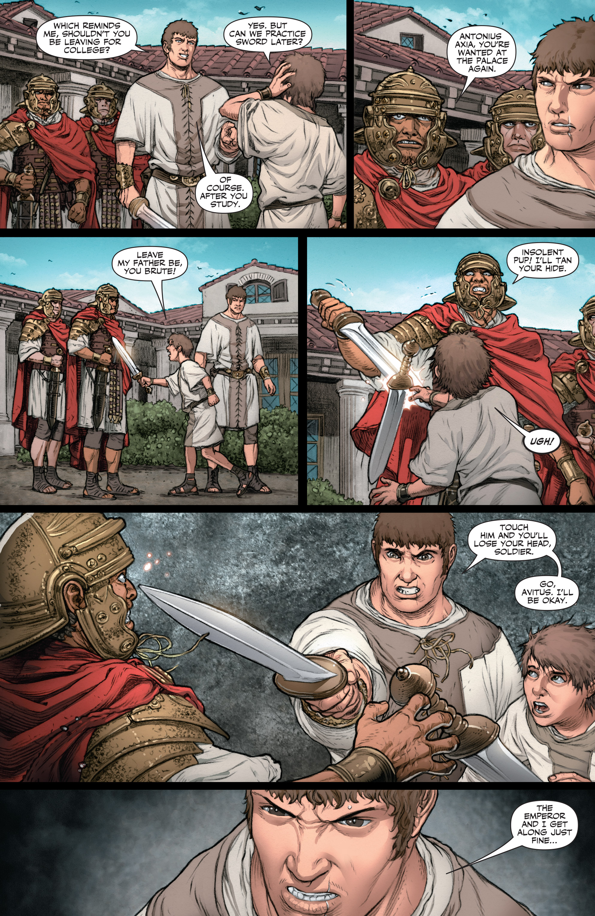 Read online Britannia: We Who Are About To Die comic -  Issue #2 - 15
