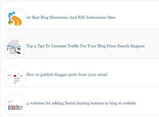 Membuat Daftar Isi (Sitemap) Blog plus Gambar Thumbnail