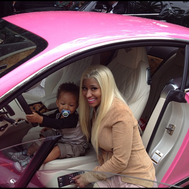 Entertainment: Alicia Keys son with Nicki Minaj |TG ...