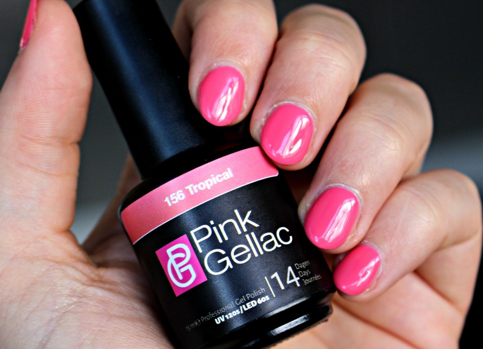 Pink Gellac 156 Tropicalµ