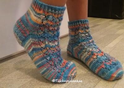 villasukat, midsummer, midsummer socks, niina laitinen , novita, Nalle