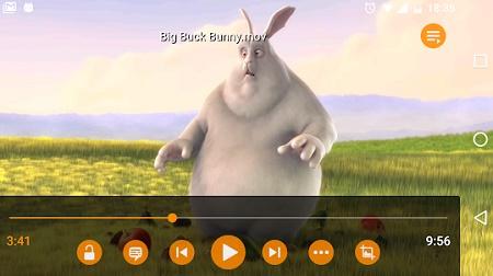 aplikasi pemutar video Android ringan dan otomatis