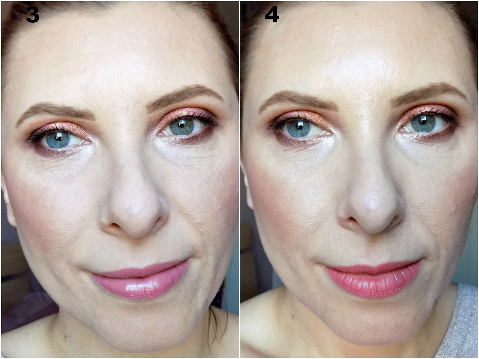 Tarte Rainforest of the Sea Water Foundation before & after photos
