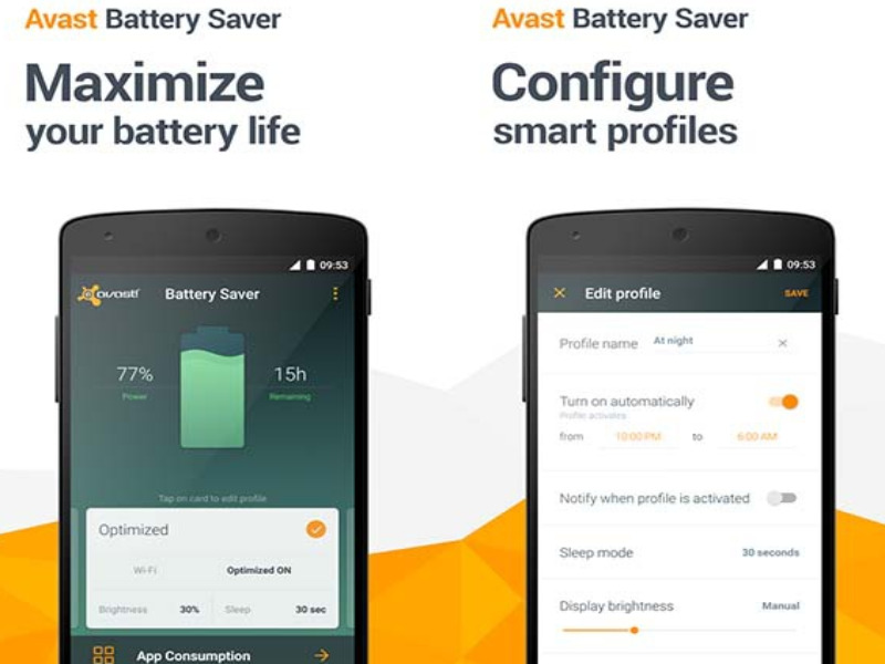 Avast Battery Saver - Best Battery Saver App for Android