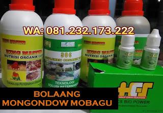 Jual SOC HCS, KINGMASTER, BIOPOWER Siap Kirim Bolaang Mongondow mobagu