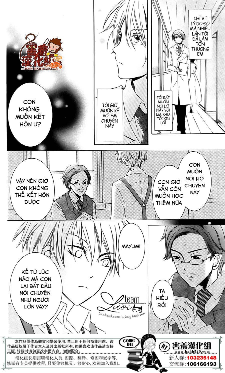 Haikei Mayumi-sama chap 3 - Trang 39