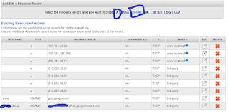 cara custom blogspot dan mengubah domain di Namesilo