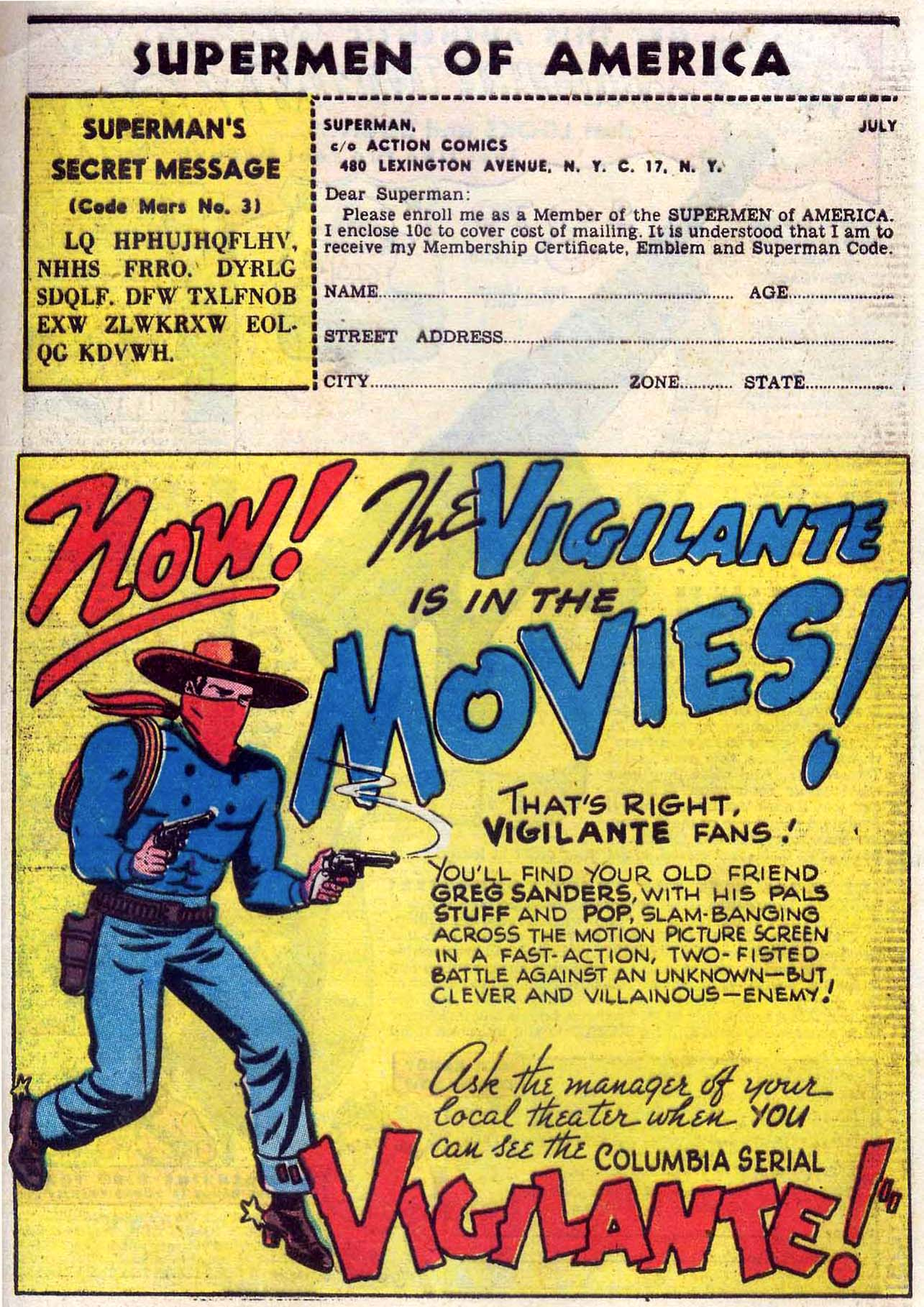 Read online Action Comics (1938) comic -  Issue #110 - 39