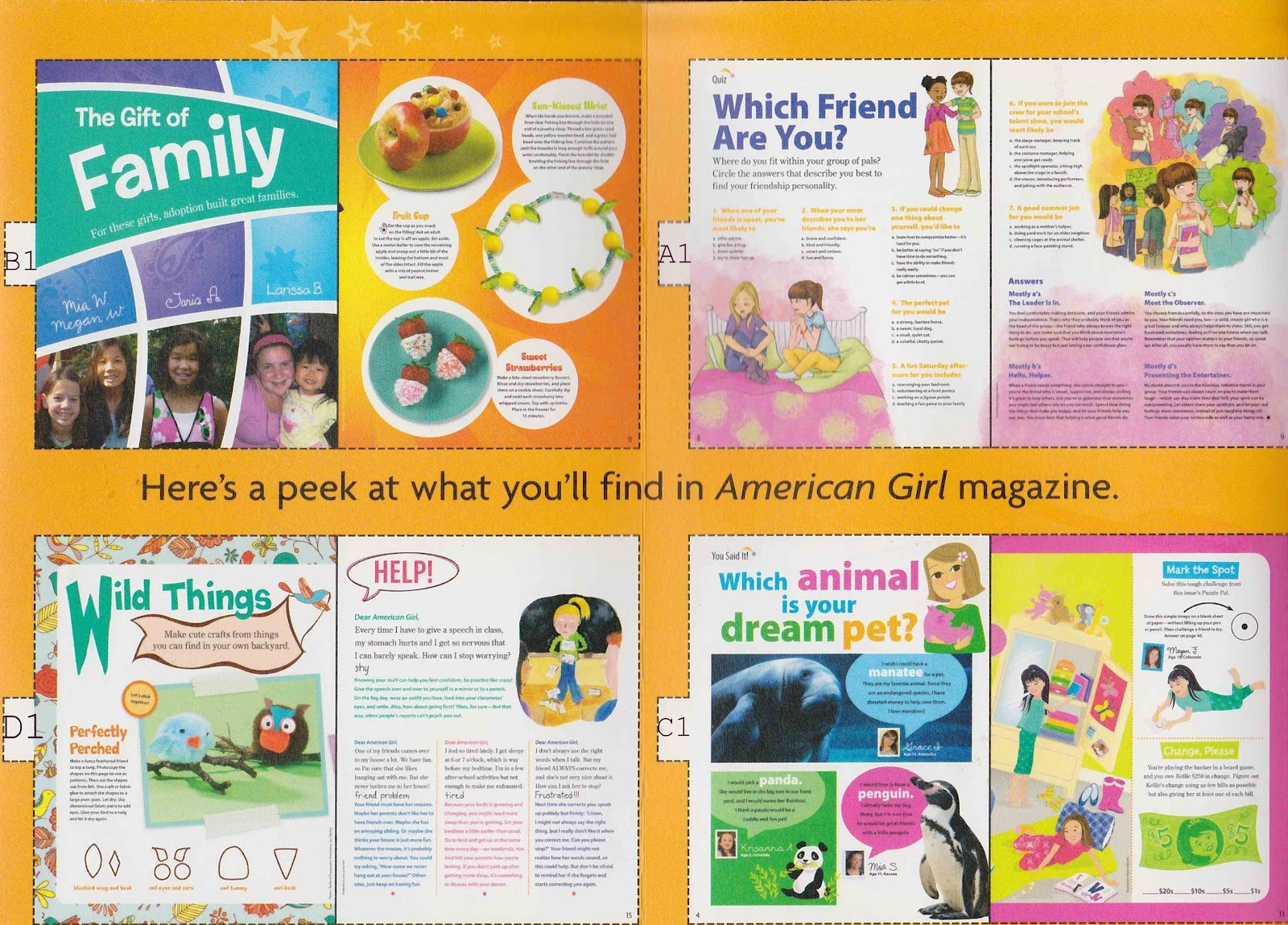 Bonggamom Finds American Girl Magazine
