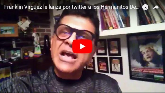 Franklin Virgüez le lanza por twitter a los Hermanitos Delcy y Jorge Rodriguez