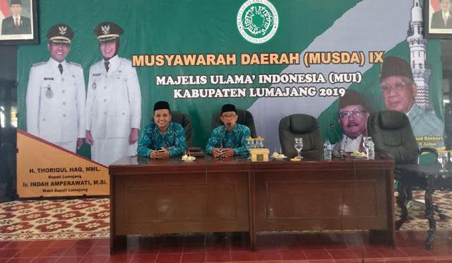 Wakil dan Ketua MUI yang baru