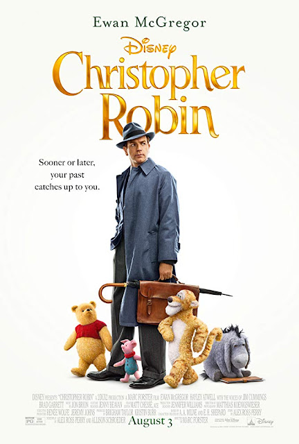 Poster for Christopher Robin movie starring Ewan McGregor