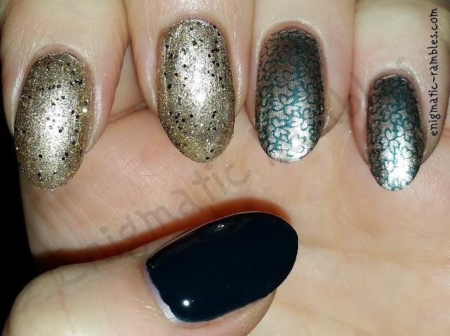 st-patrick-patricks-day-nails-nail-art-stamped-stamping-bmh04-h04