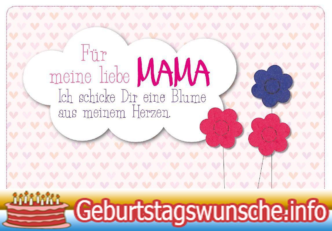 Geburtstagsgedichte Fur Die Mama Beste Geschenke Fur Die Familie