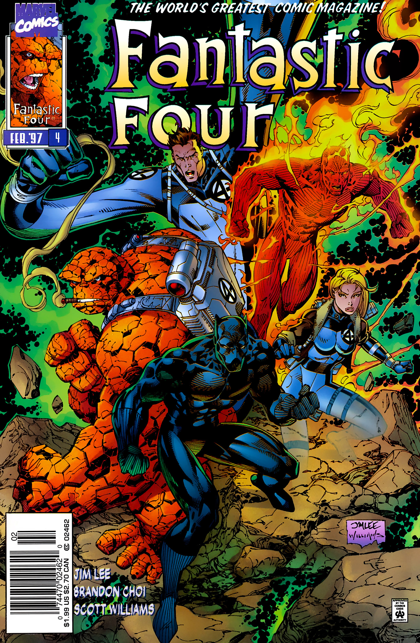 Fantastic Four (1996) issue 4 - Page 1